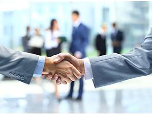 De Raad van Mediators handshake 1