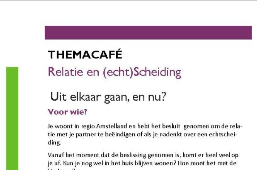 De Raad van Mediators Mediation Bemiddelaars Natasja Huisman LinkedInpublicatie Themacafé Uit elkaar gaan en nu?